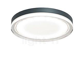 IP44.de Lisc Wand-/Plafondlamp LED antraciet