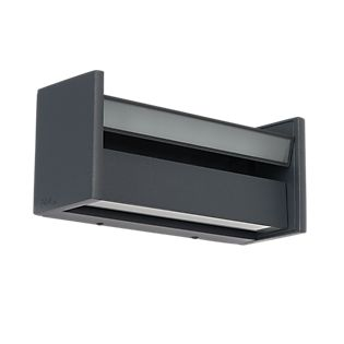 IP44.de Slat Wall/Ceiling light LED anthracite