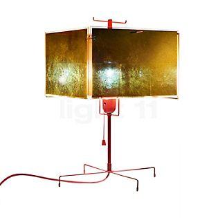 Ingo Maurer 24 Karat Blau Lampe de table doré