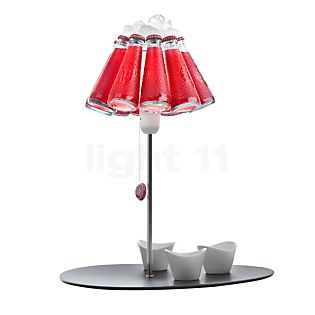 Ingo Maurer Campari Bar Table lamp red