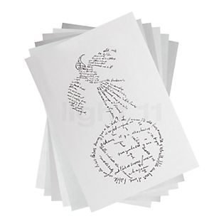 Ingo Maurer Fogli di ricambio per Zettel'z 80 non stampati per Zettel'z 6 formato DIN A6