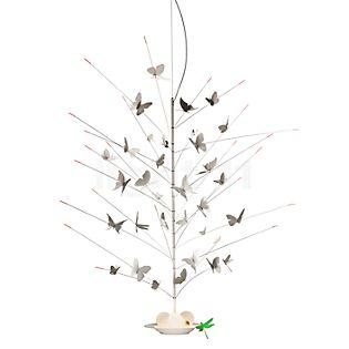 Ingo Maurer La Festa delle Farfalle Pendelleuchte LED weiß