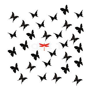 Ingo Maurer Zwarte vlinders voor La Festa delle Farfalle zwart