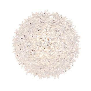 Kartell Bloom Applique/Plafonnier translucide clair, ø28 cm
