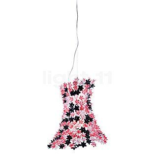 Kartell Bloom Hanglamp roze/zwart