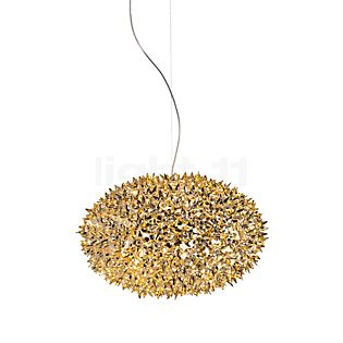 Kartell Bloom Suspension ronde M doré