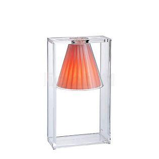 Kartell Light-Air Lampada da tavolo rosa con tessuto