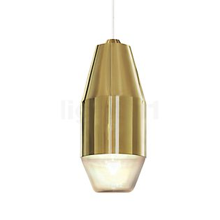 Kundalini Yuma, lámpara de suspensión LED latón