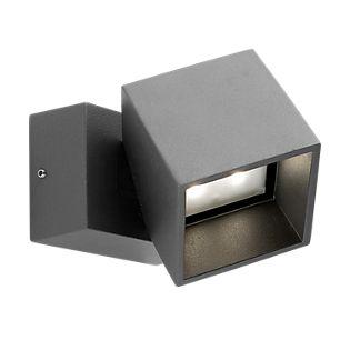LEDS-C4 Cubus Wandlamp antraciet
