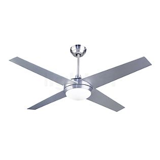 LEDS-C4 Hawai Ventilateur nickel satiné