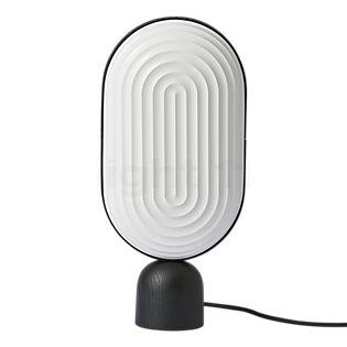 Le Klint Arc Lampe de table blanc/chêne noir