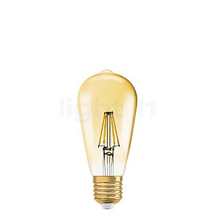 Ledvance C064-dim 7,5W/gd 825, E27 Filament LED gold