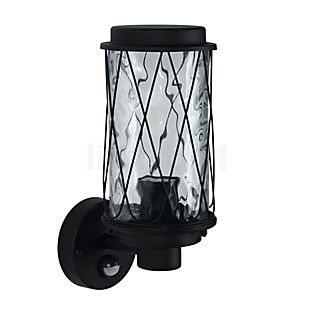 Ledvance Endura Cage, linterna de pared con sensor de movimiento negro, up