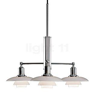 Louis Poulsen PH 2/1 Lampada a sospensione cromo lucido