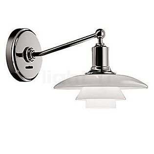 Louis Poulsen PH 2/1 Lampada da parete cromo lucido