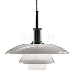Louis Poulsen PH 4½-4, lámpara de suspensión en vidrio cromo brillo