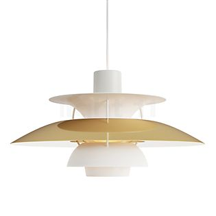 Louis Poulsen PH 5 Lampada a sospensione ottone