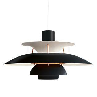 Louis Poulsen PH 5, lámpara de suspensión negro , artículo en fin de serie