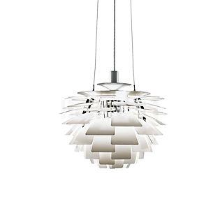 Louis Poulsen PH Artichoke 480, lámpara de suspensión blanco