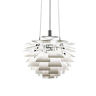 Louis Poulsen PH Artichoke 600, lámpara de suspensión blanco