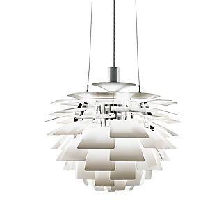 Louis Poulsen PH Artichoke 720, lámpara de suspensión blanco