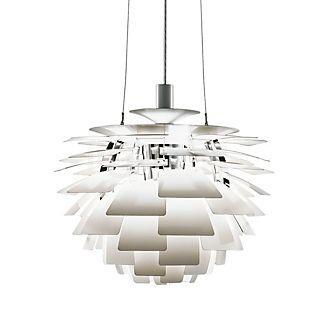 Louis Poulsen PH Artichoke 840, lámpara de suspensión blanco