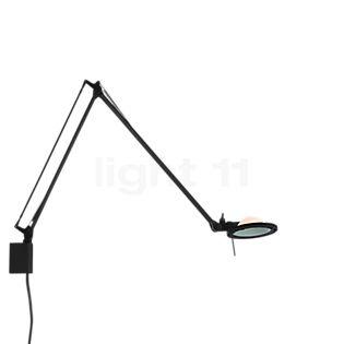 Luceplan Berenice Parete Piccola sort Reflektor lyserød