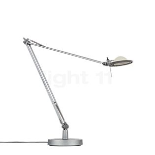 Luceplan Berenice Tavolo Aluminium Reflektor aluminiumgrau