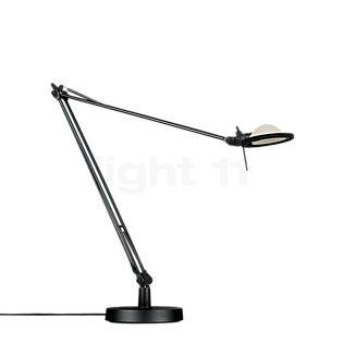 Luceplan Berenice Tavolo black Reflector aluminium grey