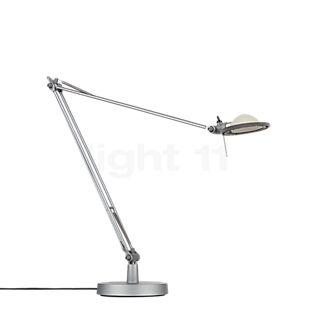 Luceplan Berenice Tavolo en aluminio reflector gris aluminio