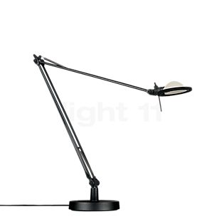 Luceplan Berenice Tavolo schwarz Reflektor aluminiumgrau