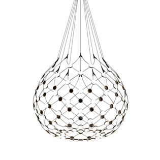 Luceplan Mesh ø80 cm LED incl. wireless-kit ophanging 1m incl. wireless-kit