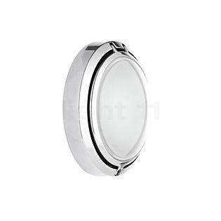 Luceplan Metropoli ø17cm, glas aluminium gepolijst