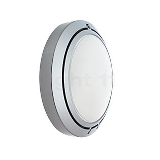 Luceplan Metropoli ø27cm Glass aluminium polished