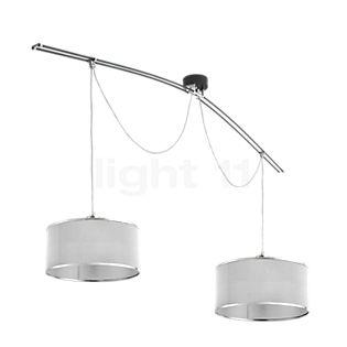Lumina Moove Doppia 42 aluminium polished