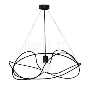 Marchetti Garbuglio S, lámpara de suspensión dorado/suspensión negra