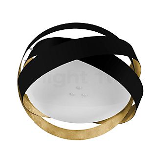 Marchetti Pura PL60 Deckenleuchte LED schwarz/blattgold