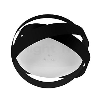 Marchetti Pura PL60, lámpara de techo LED negro/pan de oro