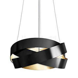 Marchetti Pura S100 Suspension LED noir/feuille d'or