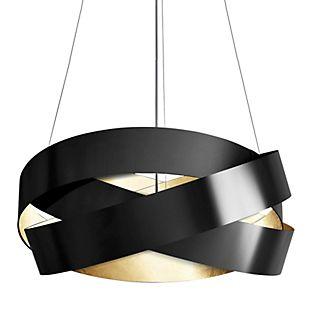 Marchetti Pura S120 Pendelleuchte LED schwarz/blattgold