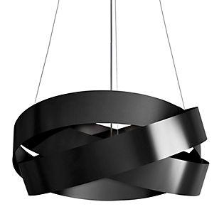 Marchetti Pura S120, lámpara de suspensión negro/pan de oro