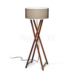 Marset Cala 140 Outdoor Floor lamp wood/brown