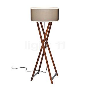 Marset Cala 140 Outdoor Floor lamp wood/brown