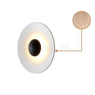 Marset Ginger 32 Wand-/Plafondlamp LED eikenhout/wit