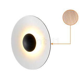 Marset Ginger 42 Applique/Plafonnier LED chêne/blanc