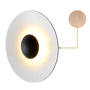 Marset Ginger 60 Applique/Plafonnier LED chêne/blanc