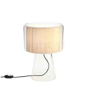 Marset Mercer M Lampe de table naturel avec bande de coton