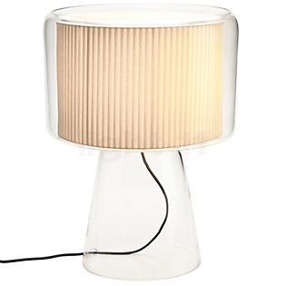 Marset Mercer Table lamp natural with cotton ribbon