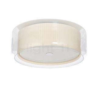 Marset Mercer, lámpara de techo blanco perla