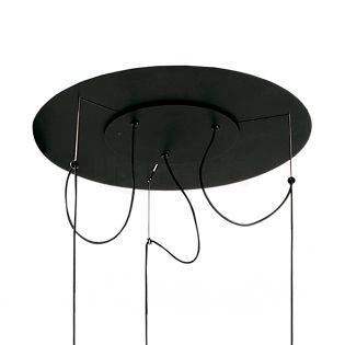 Marset Plafondkapje voor Ginger 20 Hanglamp 3-lichts zwart